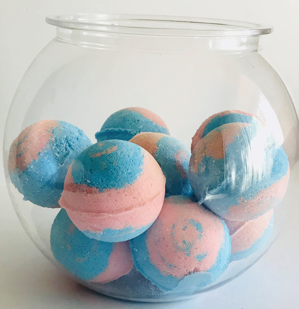Bath Bomb Box - Set of 5 Natural Bath Bombs with Essential Oils