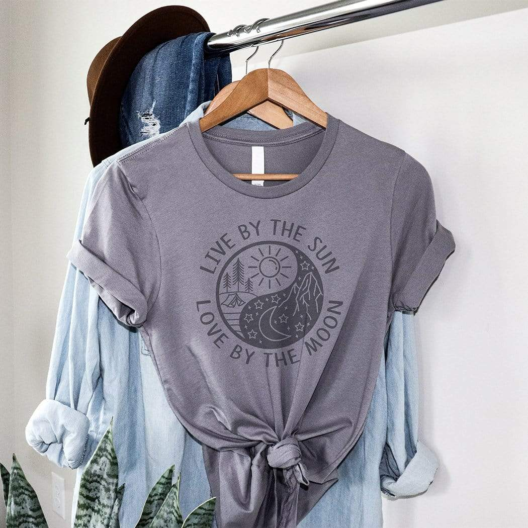 Live By The Sun, Love By The Moon Graphic T-Shirt