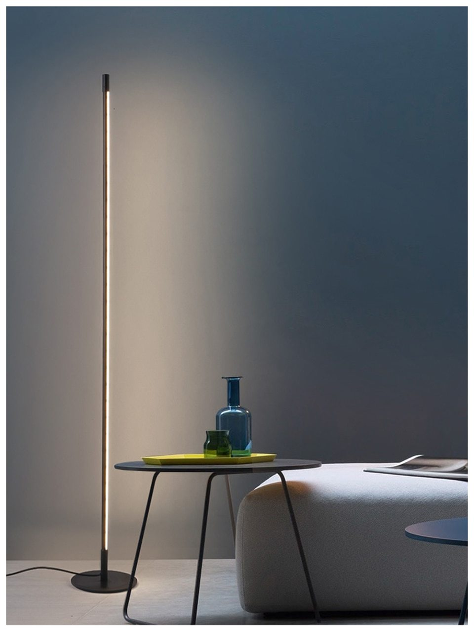 Modern LED Floor lamp Bedroom Bedside Decoration Floor Light Living