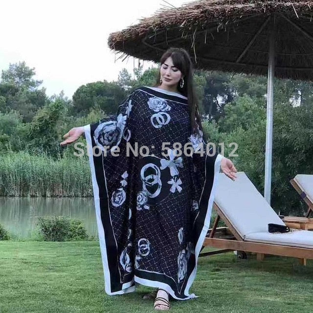 MIddle East kuwait Fashion Women prom Sexy Boho Summer Casual stwill Floral Evening Party Beach Long Maxi Dress Tourism skirt