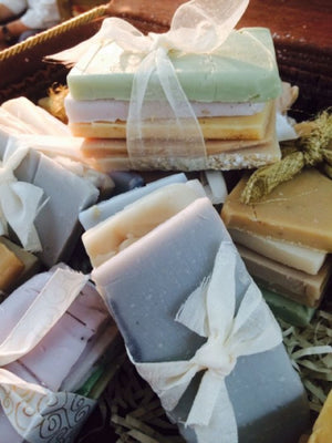 Sample Soap Pack of Organic Handmade Soap
