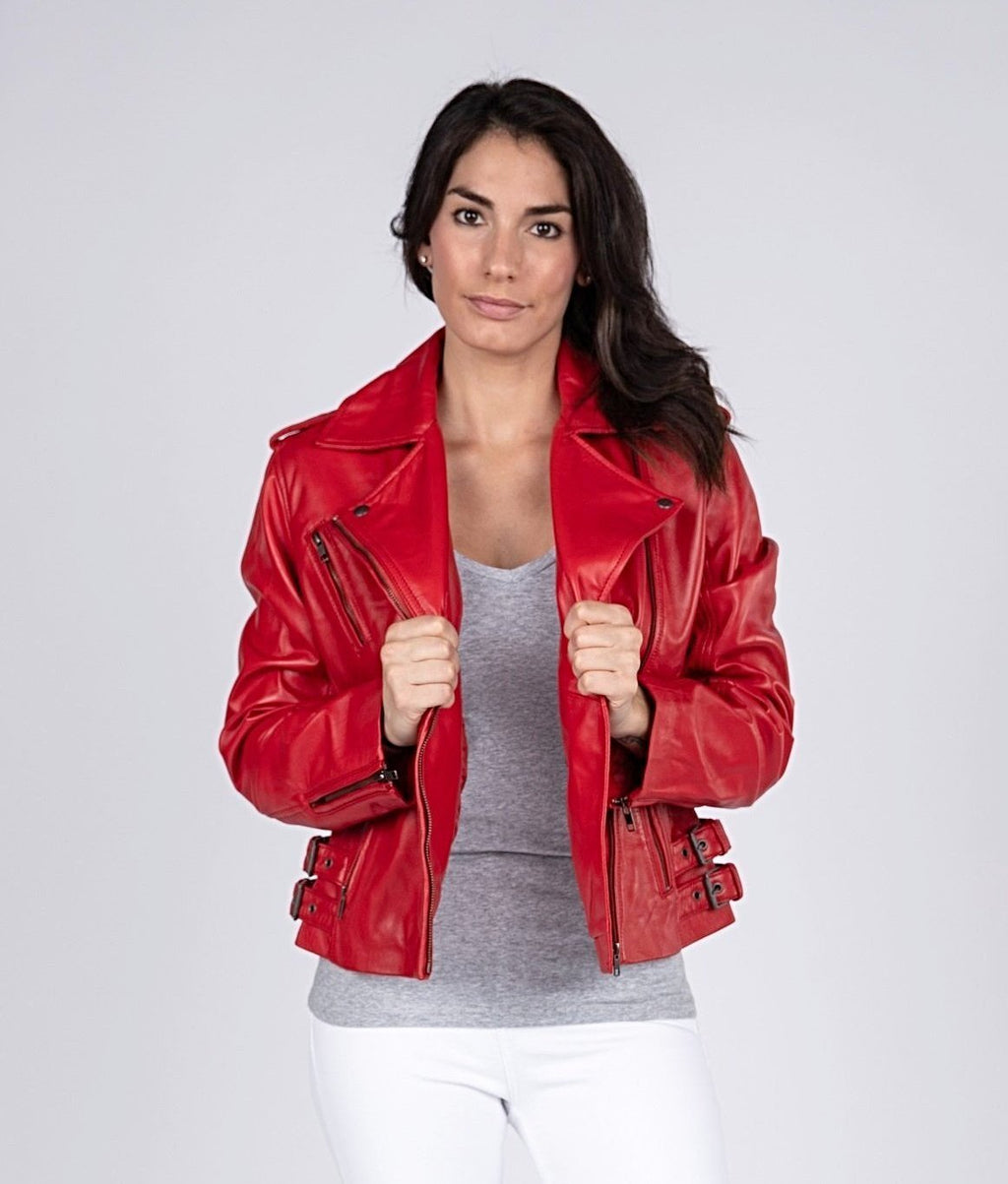 Ava Womens Leather Jacket