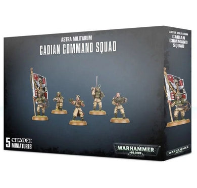 Games Workshop Astra Militarum Cadian Command Squad 2019