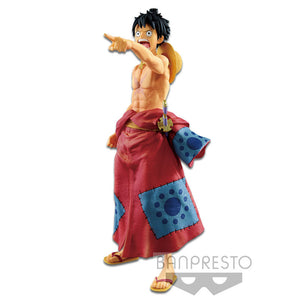 Banpresto One Piece Monkey D. Luffy World Colosseum 2