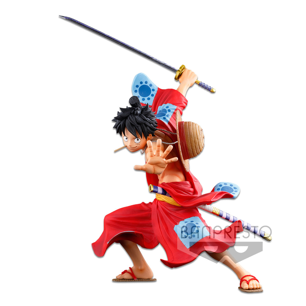 Banpresto ONE PIECE BANPRESTO WORLD FIGURE COLOSSEUM 3 SUPER MASTER STARS PIECE THE MONKEY D. LUFFY