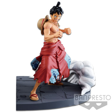 Banpresto One Piece Log File Selection Worst Generation Vol. 1 Monkey D. Luffy