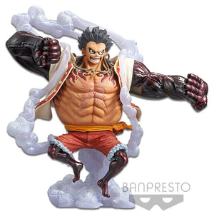 Banpresto One Piece Monkey D. Luffy Gear 4 Ver. A