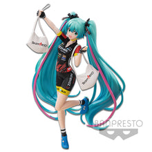 Load image into Gallery viewer, Banpresto Hatsune Miku Racing Miku 2019