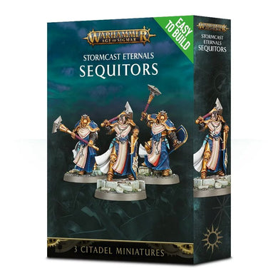 Games Workshop Easy to Build: Stormcast Eternals Sequitors