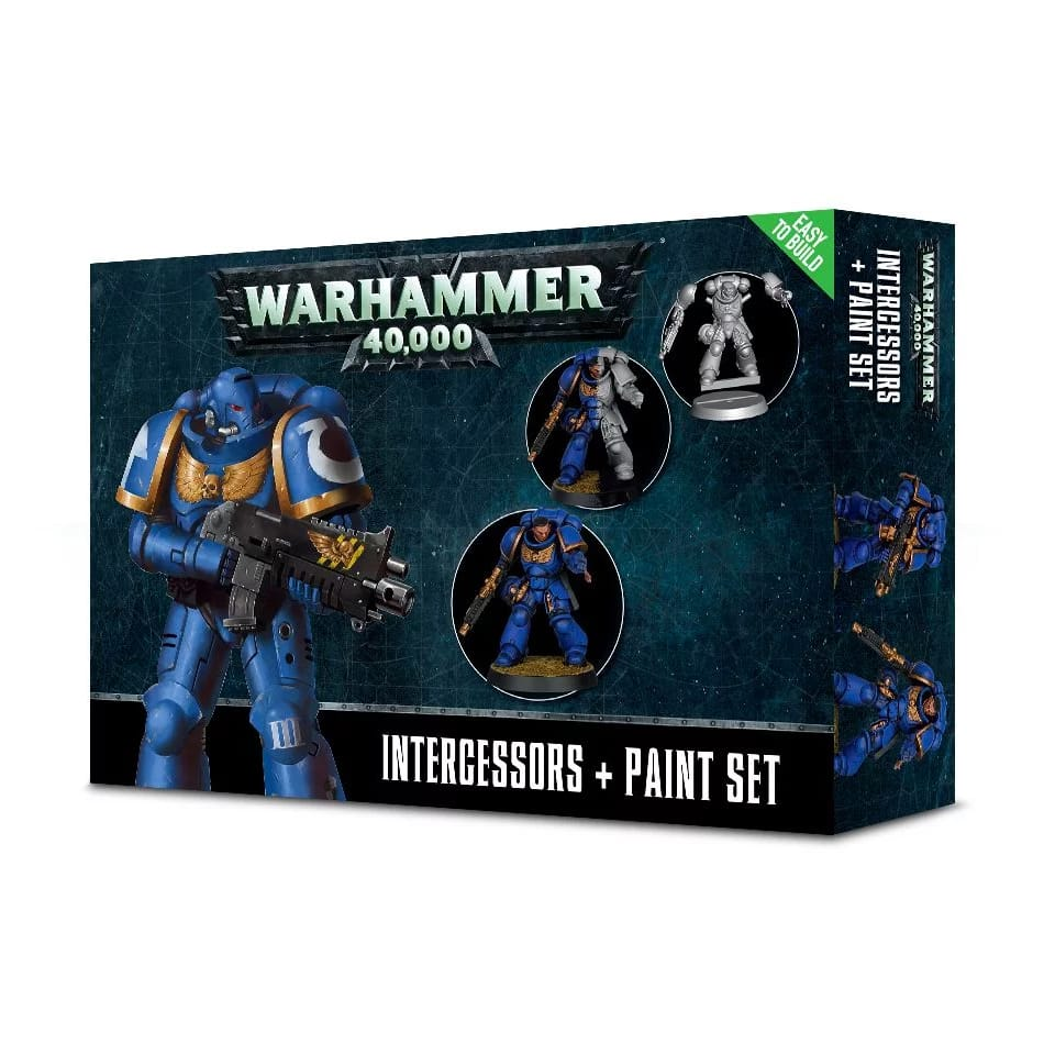 Games Workshop Space Marine Interessors Paint Set+