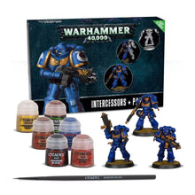 Load image into Gallery viewer, Games Workshop Space Marine Interessors Paint Set+
