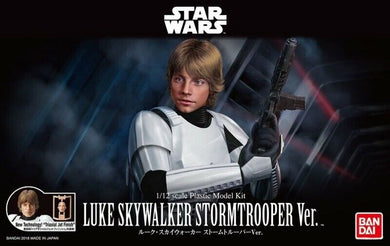 Bandai Star Wars 1/12 Luke Skywalker Stormtrooper Ver.