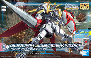 Bandai Gundam Build Divers Re:RISE HGBD:R 1/144 Gundam Justice Knight