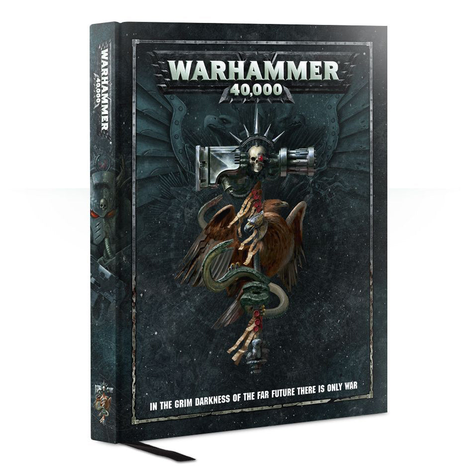 Games Workshop Warhammer 40000: Rulebook 2017