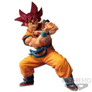 Banpresto DRAGONBALL SUPER BLOOD OF SAIYANS SS GOD