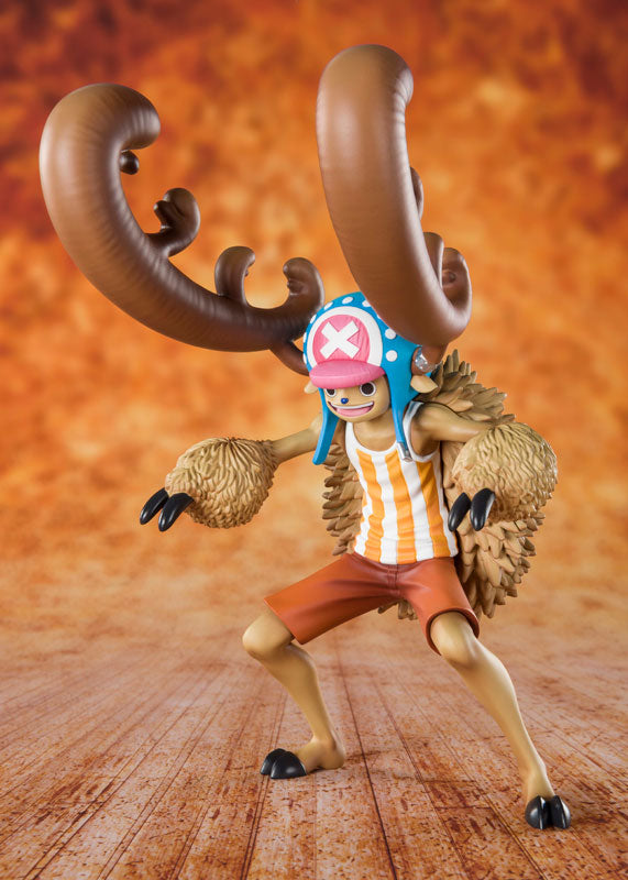 Bandai Figuarts ZERO ONE PIECE Cotton-Candy-Loving Chopper Horn Point Ver.