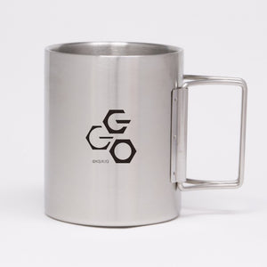 SAO Alternative GGO Folding Stainless Steel Mug