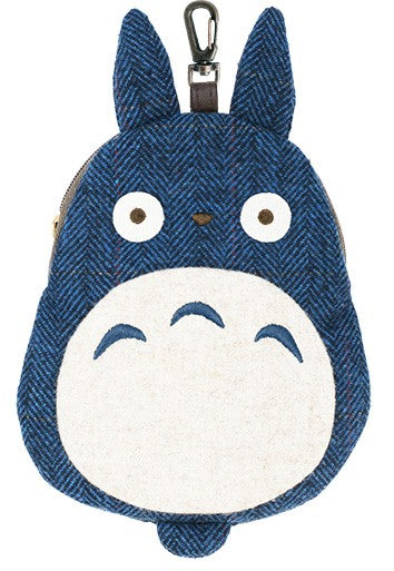 Ensky Diecut Tweed Pouch My Neighbor Totoro: Medium Totoro