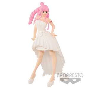 Banpresto ONE PIECE LADY EDGE:WEDDING PERHONA (White)