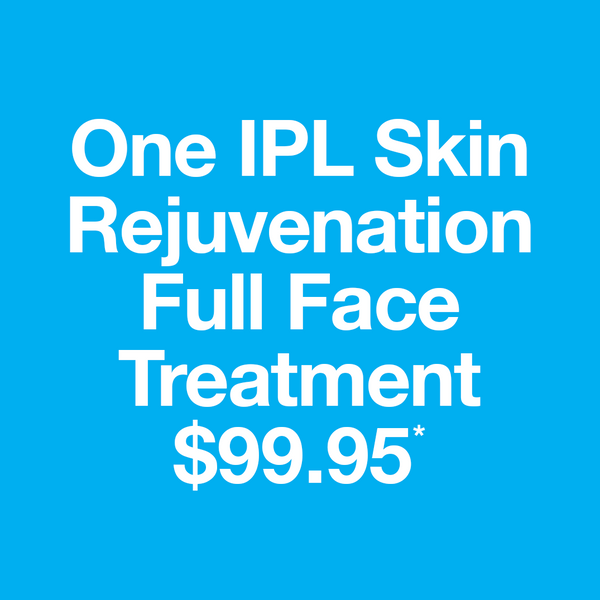 One IPL Skin Rejuvenation Full Face Treatment*