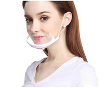 Load image into Gallery viewer, Transparent Face Masks (box of 10)