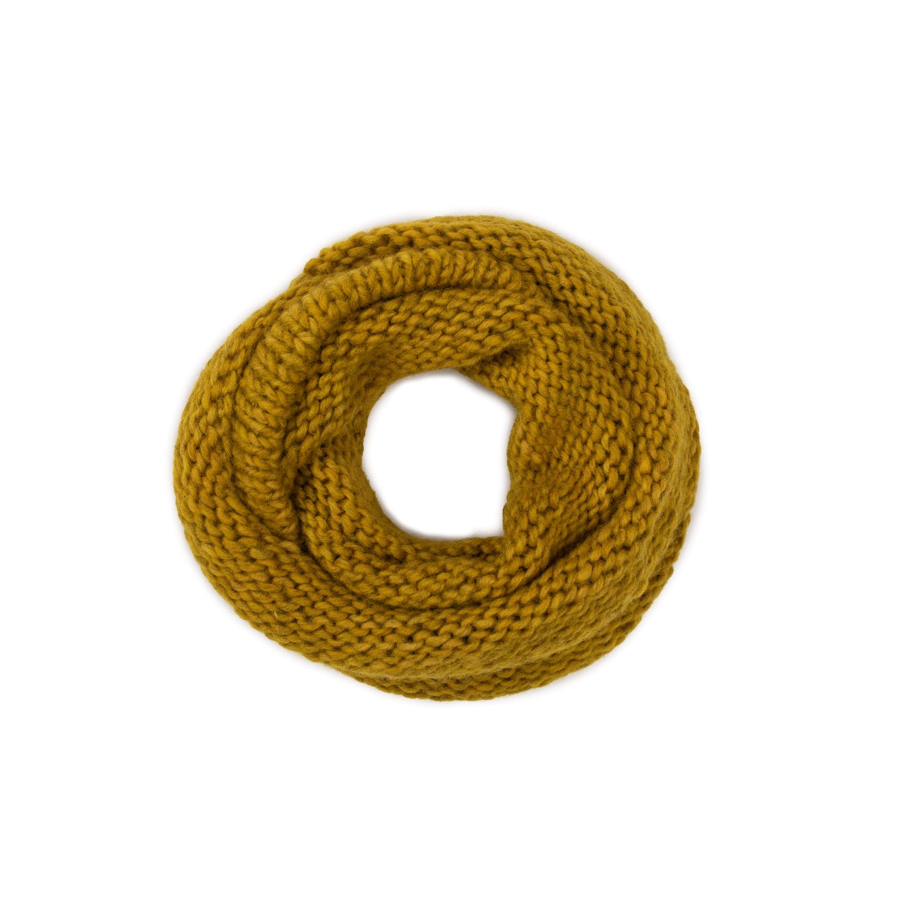 Aura scarf in yellow