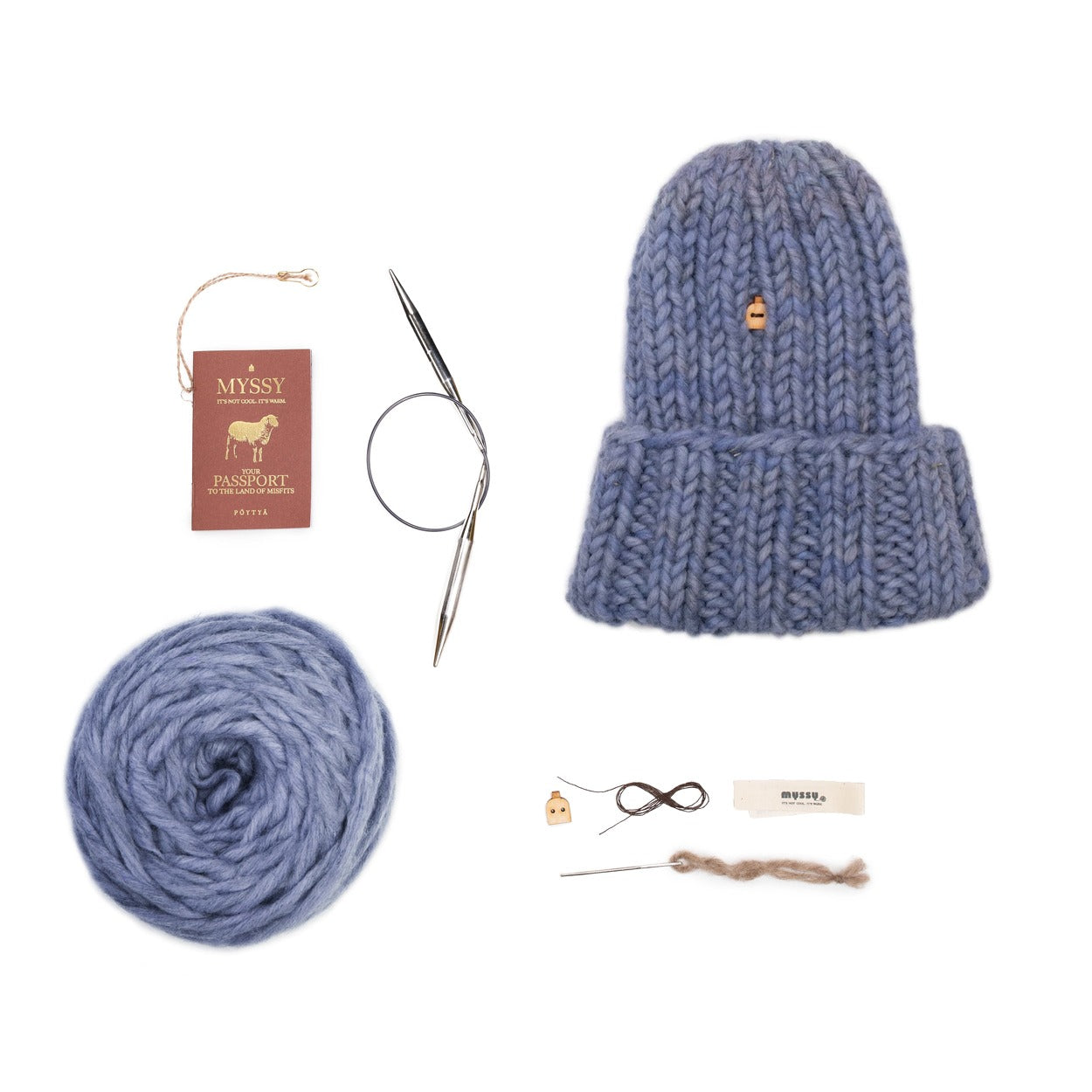 Lavender blue My Muffi DIY Kit
