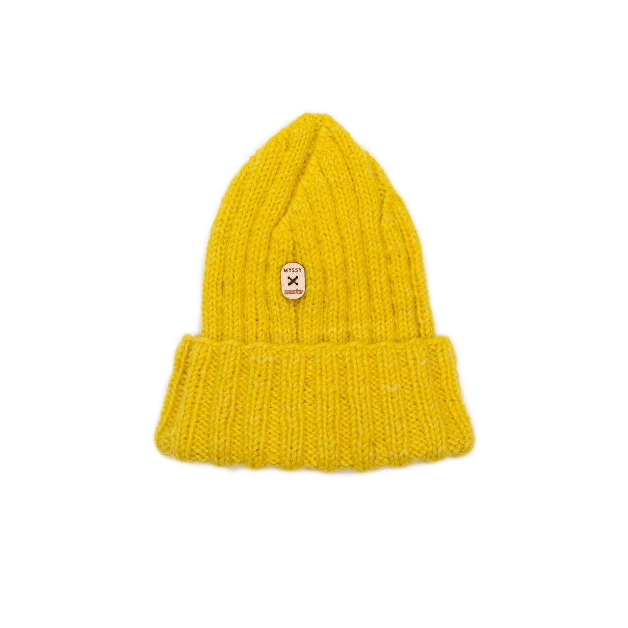 Bright Yellow Kalastaja Sasta Beanie