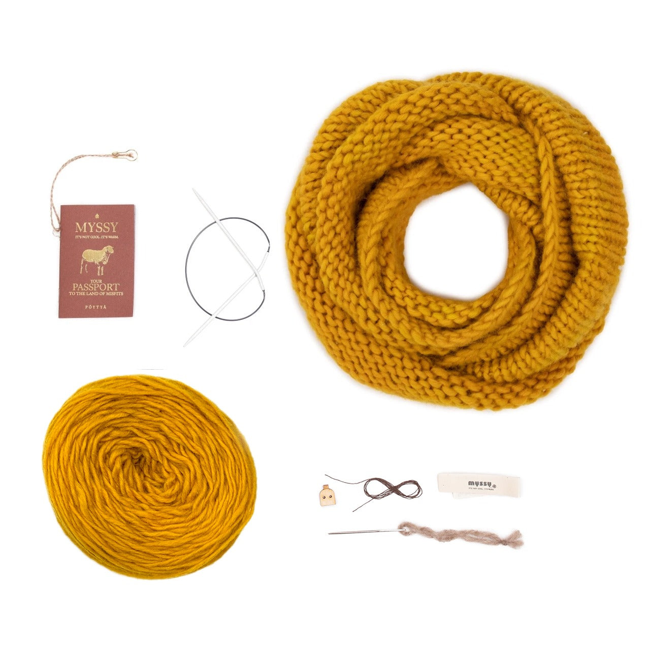 Yellow My Aura DIY Kit