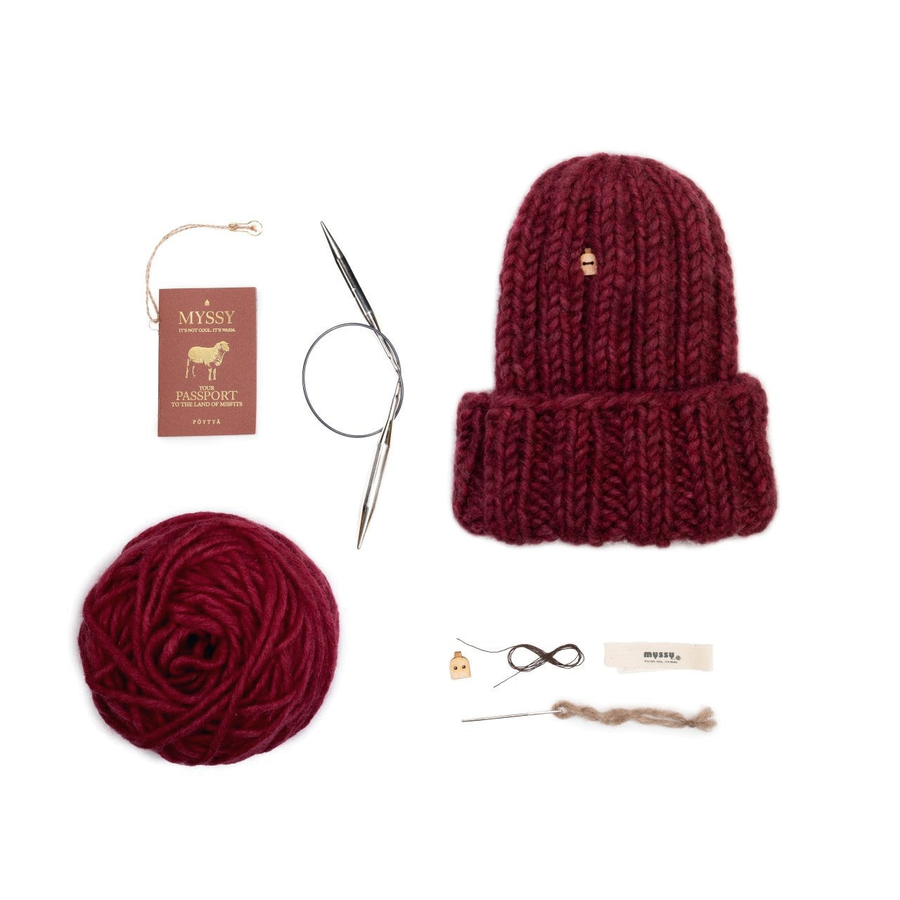 Plum My Muffi DIY kit