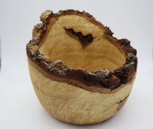 Rustic Oak Bowl