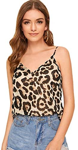 Women's Animal Snake Skin Graphic Print Cami Top