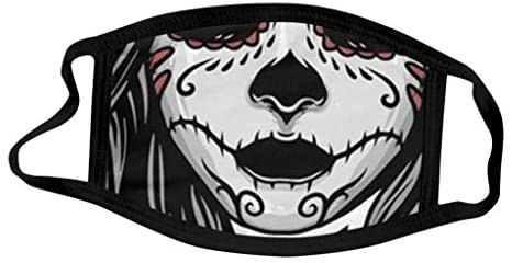 Halloween Decorations Facemask Reusable Face Bandana Decorative Face_Mask Scarf Fashion Outdoor and Indoor: Clothing