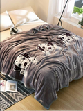 Dog Print Blanket 1PC