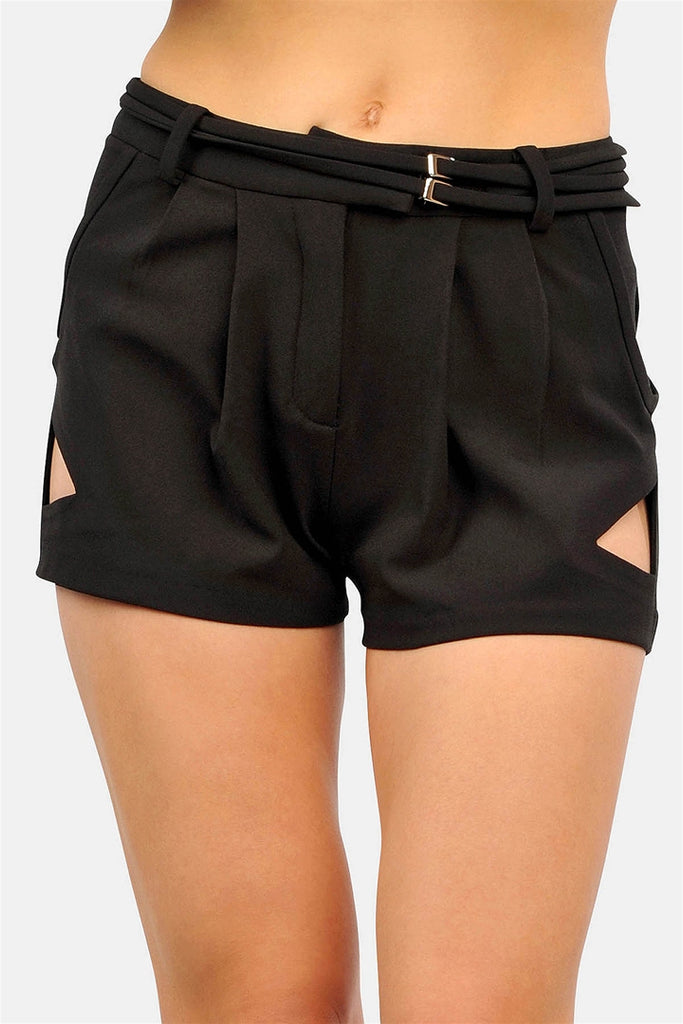 Cut Out Shorts