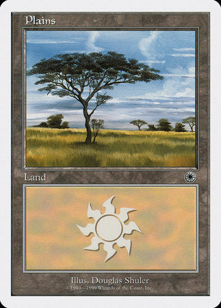 Plains (128) [Battle Royale Box Set] | Vault TCG Singles
