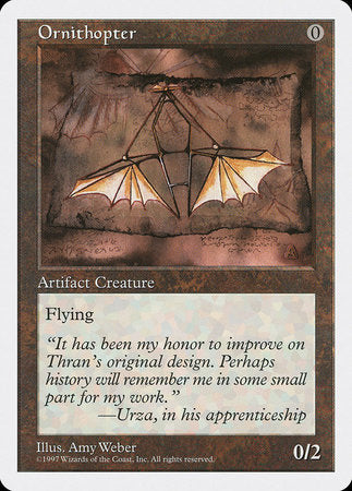 Ornithopter [Fifth Edition] | Vault TCG Singles