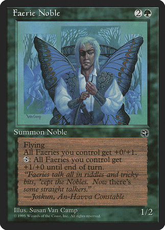 Faerie Noble [Homelands] | Vault TCG Singles