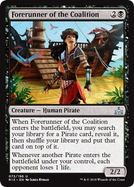 Forerunner of the Coalition [Rivals of Ixalan] | Vault TCG Singles