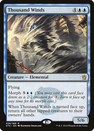 Thousand Winds [Khans of Tarkir] | Vault TCG Singles