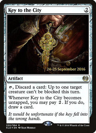 Key to the City [Kaladesh Promos] | Vault TCG Singles