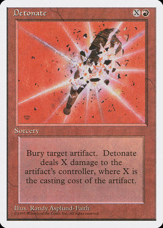 Detonate [Fourth Edition] | Vault TCG Singles