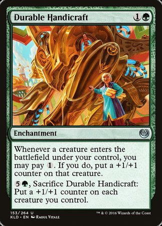 Durable Handicraft [Kaladesh] | Vault TCG Singles