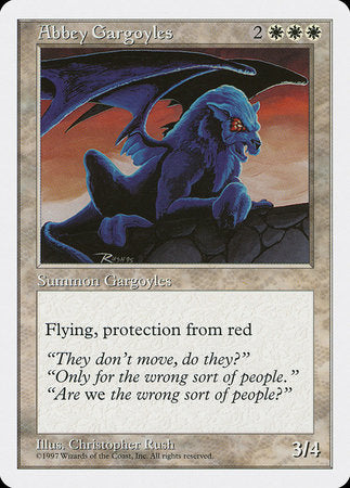 Abbey Gargoyles [Fifth Edition] | Vault TCG Singles