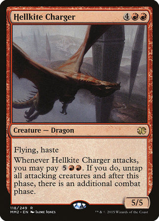Hellkite Charger [Modern Masters 2015] | Vault TCG Singles