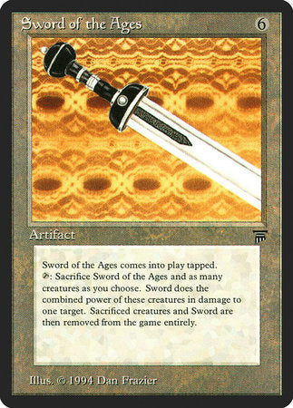 Sword of the Ages [Legends] | Vault TCG Singles