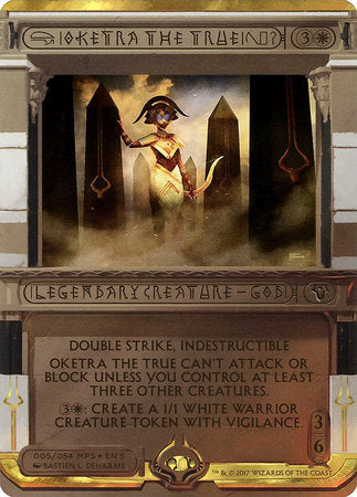 Oketra the True [Amonkhet Invocations] | Vault TCG Singles