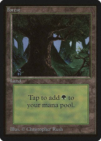 Forest (C) [Limited Edition Beta] | Vault TCG Singles