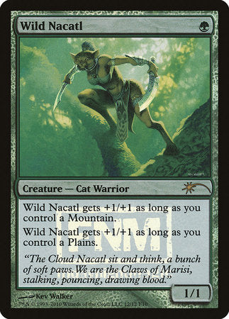 Wild Nacatl [Friday Night Magic 2010] | Vault TCG Singles
