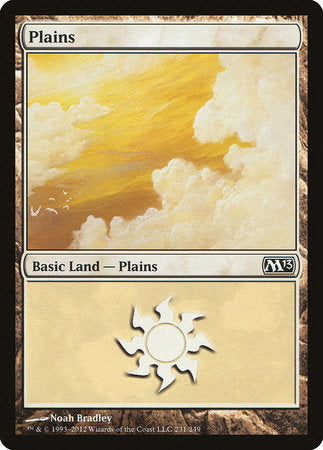 Plains (231) [Magic 2013] | Vault TCG Singles